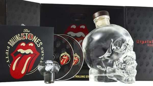 Crystal Head Rolling Stones Vodka Gift Pack
