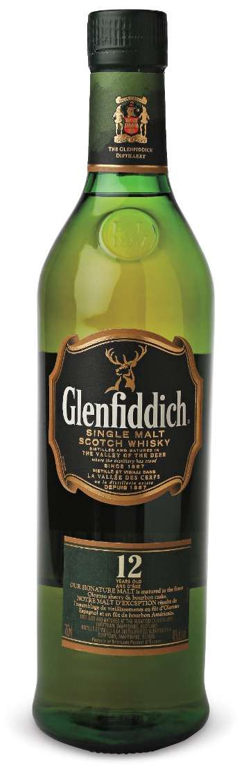 Glenfiddich 12 Year Old Scotch Whisky