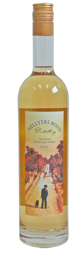 Hellyers Road Single Malt Whisky – Peated