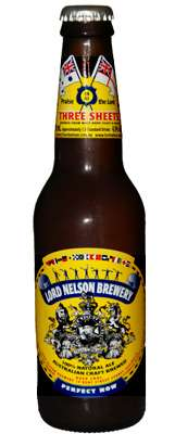 Lord Nelson Brewery Three Sheets Pale Ale