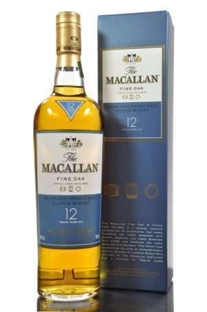 Macallan 12 Year Old Scotch Whisky