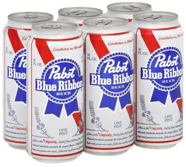 Pabst Blue Ribbon (PBR)