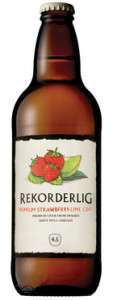 Rekorderling Strawberry and Lime Cider