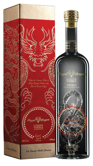 Royal Dragon Vodka Good Luck Special Edition
