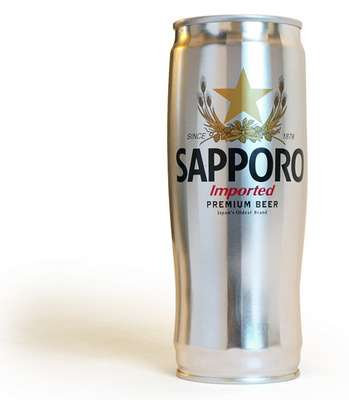 Sapporo Cans