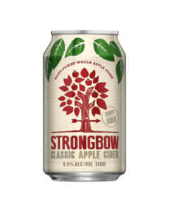 Strongbow Classic Apple Cider Cans