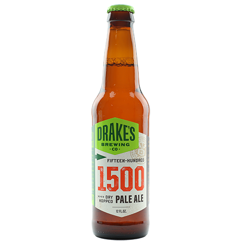 DRAKES_BREWERY_1500_DRY_HOPPED_PALE_ALE_12ozbottle_SAN_LEANDRO_CALIFORNIA