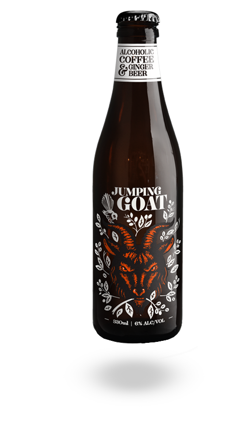 Jumping Goat Alcoholic Cold Brewed Coffee & Ginger Beer ...