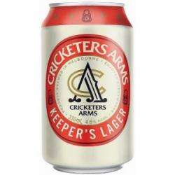 Cricketers Arms Keeper's Lager Cans 10x330mL