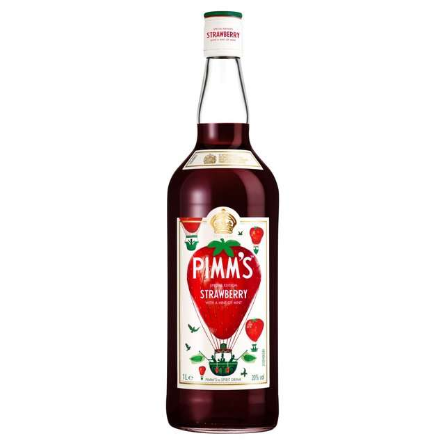 Pimms strawberry mint 1lt beer store for What to mix with pimms